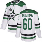 Wholesale Cheap Adidas Stars #60 Ty Dellandrea White Road Authentic 2020 Stanley Cup Final Stitched NHL Jersey