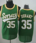 Wholesale Cheap Seattle Supersonics #35 Kevin Durant 2003-04 Green Swingman Jersey