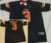 Wholesale Cheap Oklahoma State Cowboys #3 Isaac Maselera Black Jersey