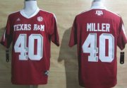 Wholesale Cheap Texas A&M Aggies #40 Von Miller Red Jersey