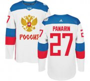 Wholesale Cheap Team Russia #27 Artemi Panarin White 2016 World Cup Stitched NHL Jersey