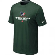 Wholesale Cheap Nike Houston Texans Big & Tall Critical Victory NFL T-Shirt Dark Green