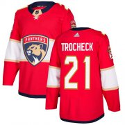 Wholesale Cheap Adidas Panthers #21 Vincent Trocheck Red Home Authentic Stitched Youth NHL Jersey
