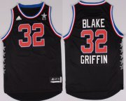 Wholesale Cheap 2015 NBA Western All-Stars #32 Blake Griffin Revolution 30 Swingman Black Jersey