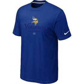 Wholesale Cheap Nike Minnesota Vikings Big & Tall Critical Victory NFL T-Shirt Blue
