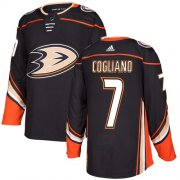 Wholesale Cheap Adidas Ducks #7 Andrew Cogliano Black Home Authentic Stitched NHL Jersey