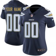 Wholesale Cheap Nike San Diego Chargers Customized Navy Blue Team Color Stitched Vapor Untouchable Limited Women's NFL Jersey