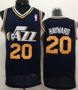 Wholesale Cheap Utah Jazz #20 Gordon Hayward Navy Blue Swingman Jersey