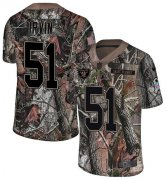 Wholesale Cheap Nike Raiders #51 Bruce Irvin Camo Men's Stitched NFL Limited Rush Realtree Jersey