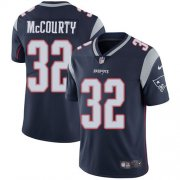Wholesale Cheap Nike Patriots #32 Devin McCourty Navy Blue Team Color Men's Stitched NFL Vapor Untouchable Limited Jersey