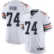 Wholesale Nike Bears #52 Khalil Mack White Men's Stitched NFL Vapor Untouchable Elite Jersey