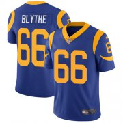 Wholesale Cheap Nike Rams #66 Austin Blythe Royal Blue Alternate Men's Stitched NFL Vapor Untouchable Limited Jersey