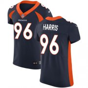 Wholesale Cheap Nike Broncos #96 Shelby Harris Navy Blue Alternate Men's Stitched NFL New Elite Jersey