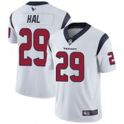 Wholesale Cheap Nike Texans #29 Andre Hal White Youth Stitched NFL Vapor Untouchable Limited Jersey