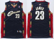 Wholesale Cheap Cleveland Cavaliers #23 LeBron James 2003 Navy Blue Swingman Jersey