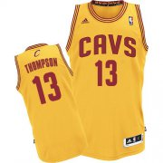 Wholesale Cheap Cleveland Cavaliers #13 Tristan Thompson Yellow Swingman Jersey