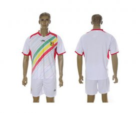 Wholesale Cheap Mali Blank White Home Soccer Country Jersey