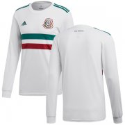 Wholesale Cheap Mexico Blank Away Long Sleeves Soccer Country Jersey