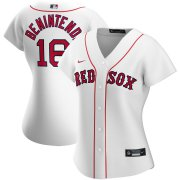 Wholesale Cheap Boston Red Sox #16 Andrew Benintendi Nike Women's Home 2020 MLB Player Jersey White