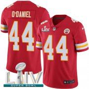 Wholesale Cheap Nike Chiefs #44 Dorian O'Daniel Red Super Bowl LIV 2020 Team Color Youth Stitched NFL Vapor Untouchable Limited Jersey