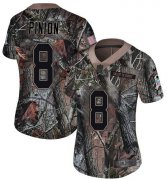 Wholesale Cheap Nike Buccaneers #8 Bradley Pinion Camo Women's Stitched NFL Limited Rush Realtree Jersey