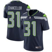 Wholesale Cheap Nike Seahawks #31 Kam Chancellor Steel Blue Team Color Men's Stitched NFL Vapor Untouchable Limited Jersey