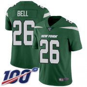 Wholesale Cheap Nike Jets #26 Le'Veon Bell Green Team Color Youth Stitched NFL 100th Season Vapor Limited Jersey