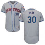 Wholesale Cheap Mets #30 Nolan Ryan Grey Flexbase Authentic Collection Stitched MLB Jersey