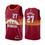Wholesale Cheap Nike Nuggets #27 Jamal Murray Red NBA Swingman 2020-21 City Edition Jersey