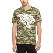 Wholesale Cheap Men's Jacksonville Jaguars '47 Camo Alpha T-Shirt