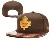 Wholesale Cheap Toronto Maple Leafs Snapback Ajustable Cap Hat YD 3