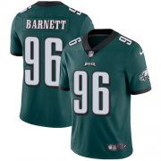 Wholesale Cheap Nike Eagles #96 Derek Barnett Midnight Green Team Color Men's Stitched NFL Vapor Untouchable Limited Jersey