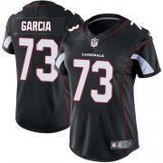 Wholesale Cheap Nike Cardinals #73 Max Garcia Black Alternate Women's Stitched NFL Vapor Untouchable Limited Jersey