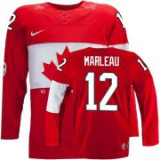 Wholesale Cheap Olympic 2014 CA. #12 Patrick Marleau Red Stitched NHL Jersey