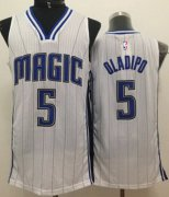 Wholesale Cheap Orlando Magic #5 Victor Oladipo White Swingman Jersey