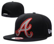 Wholesale Cheap MLB Atlanta Braves Snapback Ajustable Cap Hat GS 4