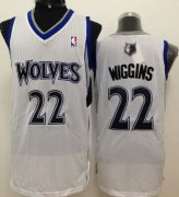 Wholesale Cheap Minnesota Timberwolves #22 Andrew Wiggins White Swingman Jersey