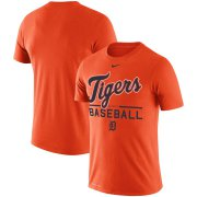 Wholesale Cheap Detroit Tigers Nike Practice Performance T-Shirt Orange