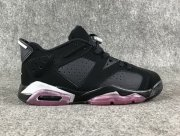 Wholesale Cheap Air Jordan 6 GS Low Sun Blush Black/White-Pink