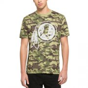 Wholesale Cheap Men's Washington Redskins '47 Camo Alpha T-Shirt