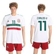 Wholesale Cheap Mexico #11 Carlos V. Away Soccer Country Jersey