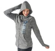 Wholesale Cheap Women's NFL Indianapolis Colts G-III 4Her by Carl Banks Recovery Full-Zip Hoodie Heathered Gray