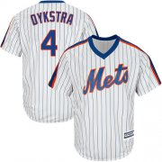 Wholesale Cheap Mets #4 Lenny Dykstra White(Blue Strip) Alternate Cool Base Stitched Youth MLB Jersey