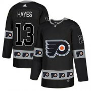 Wholesale Cheap Adidas Flyers #13 Kevin Hayes Black Authentic Team Logo Fashion Stitched NHL Jersey