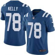 Wholesale Cheap Nike Colts #78 Ryan Kelly Royal Blue Team Color Youth Stitched NFL Vapor Untouchable Limited Jersey