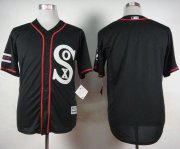 Wholesale Cheap White Sox Blank Black New Cool Base Stitched MLB Jersey