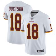 Wholesale Cheap Nike Redskins #18 Josh Doctson White Youth Stitched NFL Vapor Untouchable Limited Jersey
