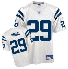 Wholesale Cheap Colts #29 Joseph Addai White Stitched NFL Jersey