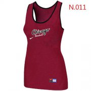 Wholesale Cheap Women's Nike Chicago White Sox Tri-Blend Racerback Stretch Tank Top Red