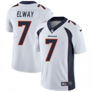 Wholesale Cheap Nike Broncos #7 John Elway White Youth Stitched NFL Vapor Untouchable Limited Jersey